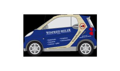 Fahrzeugbeschriftung / Fahrzeugbeklebung