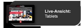 Responsive Webdesign Vorschau für Tablets